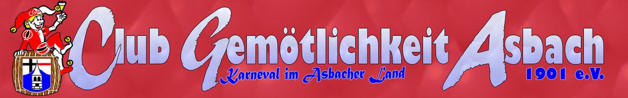 Clubgemoetlichkeit Asbach 1901 e.V.